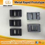 Prototipos anodizado de aluminio color oro