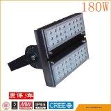 Indicatore luminoso di inondazione modulare chiaro esterno del traforo LED di 180W 60W 90W 120W con il driver di Meanwell