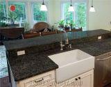 Оптовый Countertop гранита перлы острова кухни тщеты ванной комнаты изумрудный
