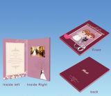 Carte visuelle faite sur commande de cadeau de mariage