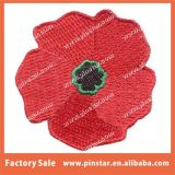 최신 Sale Lest 우리 Embroidery Poppy Flower Patches에 Forget Remembrance Iron