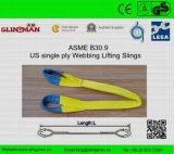 ASME B30.9 nous élingues de levage de double sangle de pli (TS-W06-02)