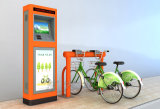 公共の自転車活気に満ちたオレンジ標準タイプ中央制御のキャビネット