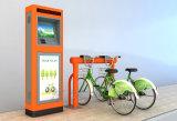 Cabina de control central de tipo standard anaranjada Bicicleta-Vibrante pública