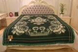 Materia textil de la tela de las mantas del telar jacquar de las lanas de las Tíbet-Ovejas del 100%