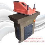 Verwendete Italien-Atom-hydraulischer Schwingen-Arm-lederne stempelschneidene Maschine (SE25)