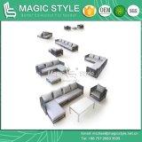 Sofà di vimini esterno stabilito del sofà del patio del sofà stabilito domestico moderno del rattan (stile magico)
