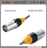 위원회 마운트 IEC 플러그 위원회 마운트 RJ45는 연결관을 방수 처리한다