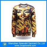 Нестандартная конструкция ваш собственный пуловер Hoodie печатание сублимации с логосом