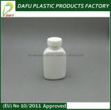 бутылка овальной формы PE 50ml жидкостная пластичная пустая