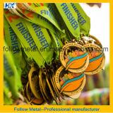 Medaglie di alta qualità per la stazione di finitura di maratona