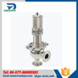 Válvula de seguridad sanitaria de la válvula de control de proceso Ss304