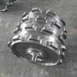 掘削機の短縮の車輪