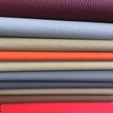 Tissu en cuir de PVC de qualité pour la portée de véhicule (HS-PVC16018)