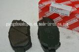 부속 브레이크 패드 무역 회사 Toyota를 위해 04465-08030