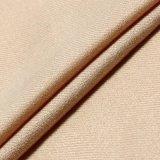 Tissu en nylon de rayonne beige de ratière pour les dessus des femmes