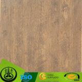 Papel decorativo de la melamina de madera del grano para adornar el guardarropa