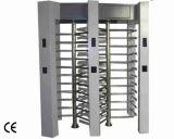 Cancello girevole di giro di altezza completa dei tre rulli per il sistema di controllo di accesso