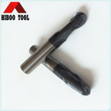 2flutes Altin Coating Ball Nose End Mills