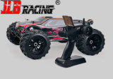 2016 nuevos 1:10 Scale 4WD Brushless Electric campo a través Power Monster Truck RC Model