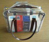 La vente chaude traite bon marché le sac à provisions de PVC