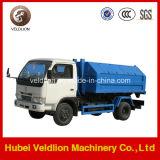 쓰레기 트럭 소형 3-4 톤 훅 상승