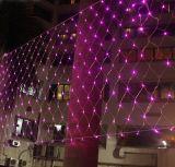 [2.5م] مع [لد] [ليغت نرج- سفينغ] [لد] عيد ميلاد المسيح عنكبوت شبكة أضواء