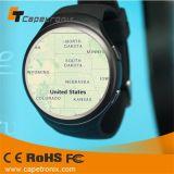 2016 Iosのアンドロイドの電話のためのBluetooth 4.0 WiFi GPS Smartwatchの実質の人間の特徴をもつスマートな腕時計の電話