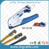 Fのコネクターのための専門の同軸ケーブルRg58 Rg59 RG6の圧縮のツール