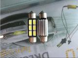 Lámpara de lectura de la luz LED del coche de la MAZORCA 41m m de Canbus del adorno de C5w