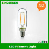 2W E14 T25 Bulb LED Light Dimmable LED Filament Bulb mit Cer RoHS