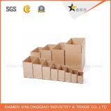 Rectángulo acanalado de empaquetado de la cartulina de papel de la alta calidad para la pila de discos de las uvas