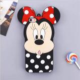 Cassa del telefono delle cellule del silicone di Minnie della banda di Mickey di sorpresa dell'arco del PUNTINO del fumetto per Motorola G4 (XSD-080)