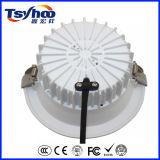 Diodo emissor de luz de alumínio Downlight do teto da ESPIGA dos baixos lúmens elevados de Ugr 12W 20W 30W