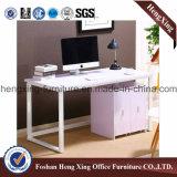 金属の構造のオフィス用家具のメラミンオフィス表のコンピュータ表(HX-6D029)