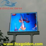 Pantalla a todo color al aire libre de HD P8 SMD LED