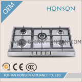 Edelstahl Cast Iron Built in Gas Hobs Gas Cooker