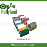 Het met een laag bedekte & In reliëf gemaakte Blad van de Rol van het Aluminium (ALC1105)