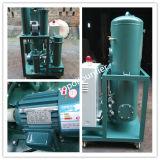 携帯用絶縁の油純化器シリーズZy-20/Removes自由に、溶ける水、空気ガスおよび微粒子または小さい、こんにちは効率的