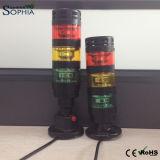 IP67 70mm drei Stapel LED-Signal-Aufsatz-Licht-mit Tonsignal