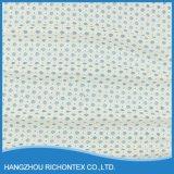 Tela de la frontera del cordón, tela orgánica del cordón del algodón