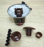 Mini Chocolate Fountain Household 3-Tier Chocolate Fondue Machine