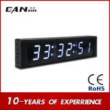 [Van de LEIDENE van Ganxin] Opgezette Klok de Digitale Wekker van de Klok Elektronische Muur