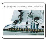 De horizontale Automatische Machine van de Etikettering van het Etiket van de Fles van het Flesje Kleine Kleverige