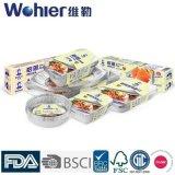 Taza agria del huevo de los envases de almacenaje del papel de aluminio de la categoría alimenticia con el color de plata