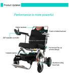 Topmedi 제품 2016년 Recling 휴대용 가벼운 힘 전자 휠체어