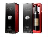 Doos van de Gift van de Wijn van het Karton van de Doos van de Wijn van het Af:drukken van de Douane van de luxe de Verpakkende