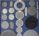 Rete metallica nera usata filtro del ferro dell'acciaio a basso tenore di carbonio