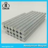 Kundenspezifische Größen-runde Platten-Neodym-Magneten für Telefon-Standplatz