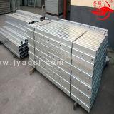 Plate-forme de travail Elevated actionnée par acier de Zlp pour la construction